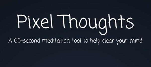 Most amazing websites: Pixel thoughts