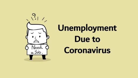 Unemployment Due to Coronavirus