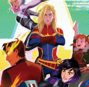 Marvel Rising Initiation Art