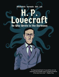 H P Lovecraft He Who Wrote in Darkness GN Cover