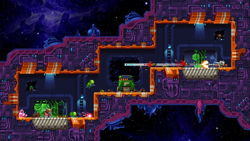 Mutant Alien Assalt screenshot