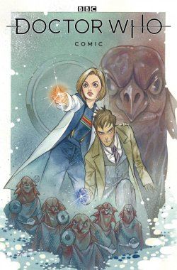 Doctor Who comic book cover