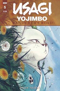 Usagi Yojimbo: Wanderer's Road 5 cover
