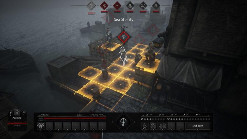 Black Legend art screenshot 3