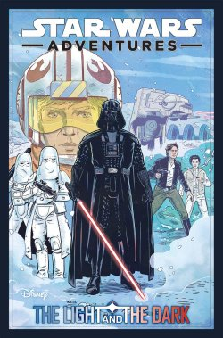 Star Wars Adventures The Light and the Dark cover