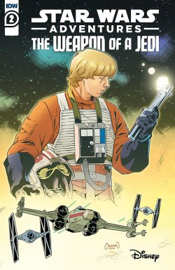 Star Wars Adventures Weapon of a Jedi 2 cover