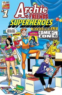 Archie & Friends Superheroes cover