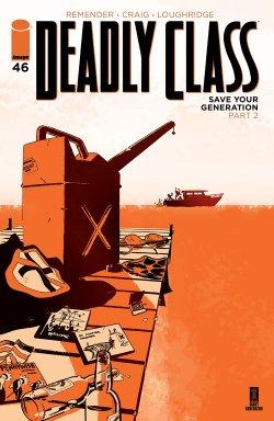 Deadly Class 46 comic book cover