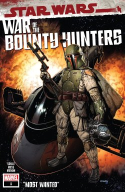 Star Wars: War Of The Bounty Hunters #1 (of 5) comic cover