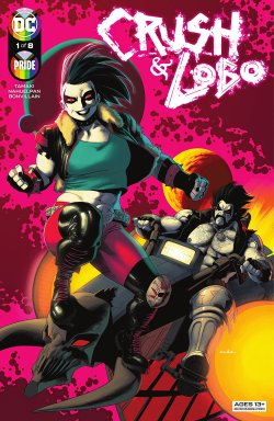 Crush & Lobo (2021-) #1 comic cover