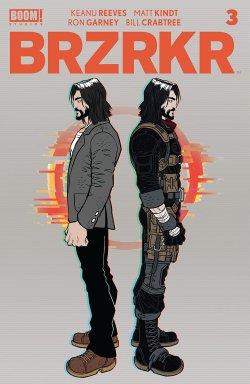 BRZRKR #3 cover image