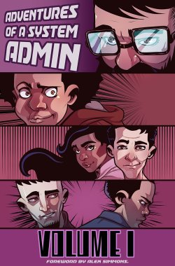 Adventures of a System Admin Vol. 1 comic book cover