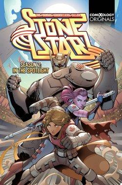 Stone Star Season Two (comiXology Originals) comic book cover art