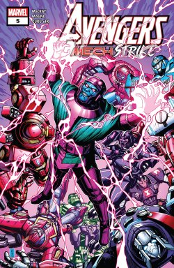 Avengers Mech Strike #5 (of 5) comic book