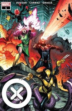 X-Men 1 comic book cover art