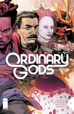 Ordinary Gods comic book cover art