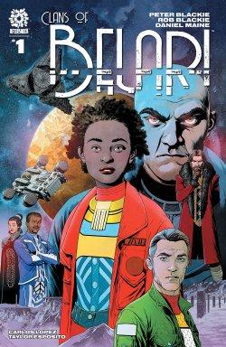 Clans of Belari #1 comic book cover art