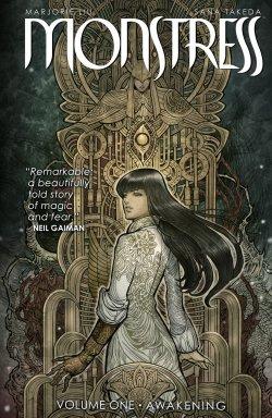 Monstress comic book cover