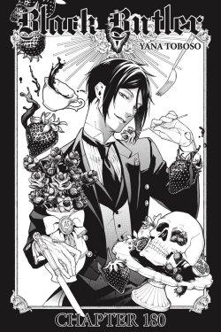 Black Butler manga cover