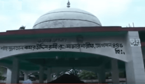 Tomb of Hazrat Shah Sultan Kamruddin Rumi (R) at Madanpur