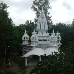 Newly build Temple in Anukul Chandra Asram