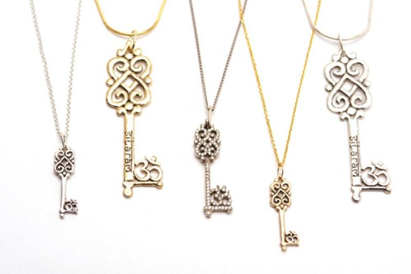 Double lotus heart keys by SPC