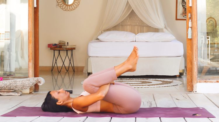 A Yoga Routine for when you feel crummy.