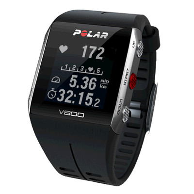 Polar V800 帶H10心率傳感器 黑色 香港行貨 - 運動手錶 - 穿戴式裝置 - 電子產品 - 友和 YOHO