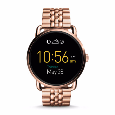 Fossil Q Wander 輕觸式智能手錶 玫瑰金色不繡鋼帶 FTW2112 香港行貨 - 智能手錶 - 穿戴式裝置 - 電子產品 - 友和 YOHO