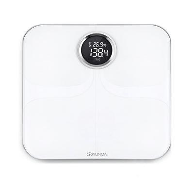 雲麥 Yunmai M1301 智能電子磅 英文尊貴版 白色 香港行貨 - 電子磅 - 保健 - 美容及護理 - 友和 YOHO - O2O購物
