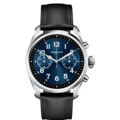 萬寶龍 MontBlanc Summit 2 精鋼及皮革 智能腕錶 黑色 123850 香港行貨 - 智能手錶 - 穿戴式裝置 - 電子產品 - 友和 YOHO