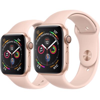 Apple Watch Series 4 GPS+Cellular 44mm 金色鋁金屬錶殼配淺粉紅色運動錶帶 香港行貨 - 智能手錶 - 穿戴式裝置 - 電子 ...