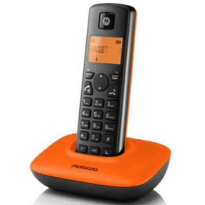Motorola T401+ 數碼室內無線電話 橙色 香港行貨 - 室內電話 - 生活電器 - 家庭電器 - 友和 YOHO