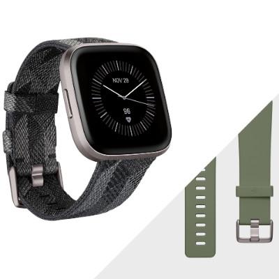 Fitbit Versa 2 SE 智能手錶 特別版 煙灰色編織紋 FB507GYGY-FRCJK/L 香港行貨 - 智能手錶 - 穿戴式裝置 - 電子產品 ...