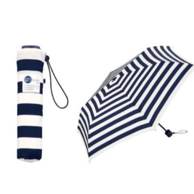 日本 W.P.C Unnurella 滴水不沾防水短雨傘 藍白條紋 香港行貨 - 雨傘 - 戶外 - 生活時尚 - 友和 YOHO