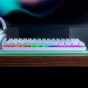 Razer Huntsman Mini 獵魂光蛛 Mercury迷你版光軸鍵盤 段落光軸(Razer 紫軸) 白色 RZ03-03390300-R3M1 香港行貨 - 電競鍵盤 ...