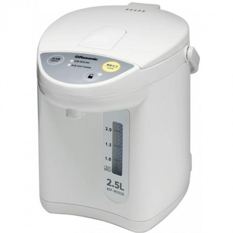 樂信 Rasonic RTP-W25SB 2.5L 電熱水瓶 香港行貨 - 電熱水煲 - 廚房電器 - 家庭電器 - 友和 YOHO - 網購電器及電子產品