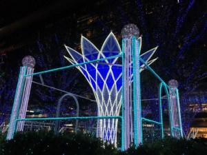 JR博多駅クリスマスイルミネーション2015