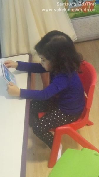 Samsung KidsTime-nava