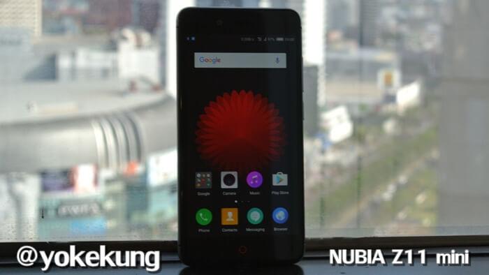 รีวิว มือถือ nubia Z11 mini รูดขอบจอได้ แบ่ง 2 จอได้ ถ่ายรูปสวย แรม 3G เมม 32GB ราคา 6,990 บาท