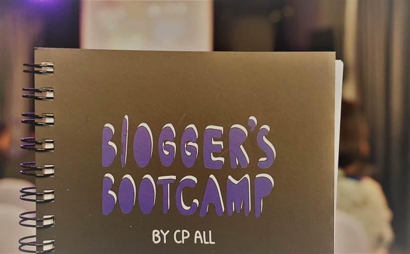 ปลุกไฟให้ลุกโชน กับ Passion จาก Spin9 และจริยธรรม Social จาก ว่านน้ำ ใน Blogger's Bootcamp By CP ALL วันที่ 2