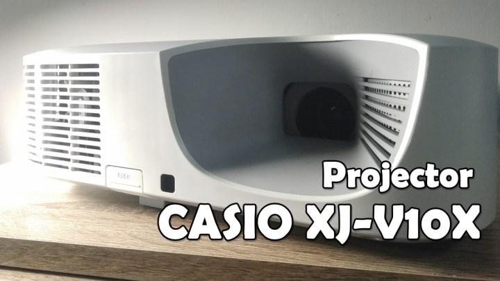 โปรเจคเตอร์ CASIO XJ-V10X กดปุ่มเดียว ฉายภาพได้ในเวลาเพียง 5 วินาที