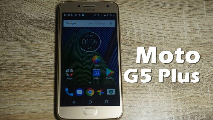 คุ้มสุดๆ Moto G5 Plus กล้องเด็ด ฟีเจอร์เด่น มีสแกนนิ้ว