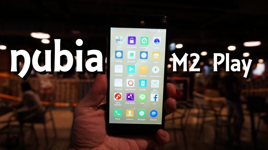 อยากได้มือถือเน้นกล้อง เลือก nubia M2 PLAY Camera Smartphone ถ่ายภาพสวย คมชัด พร้อมโหมดบิวตี้ ในราคาไม่ถึง 6 พันบาท