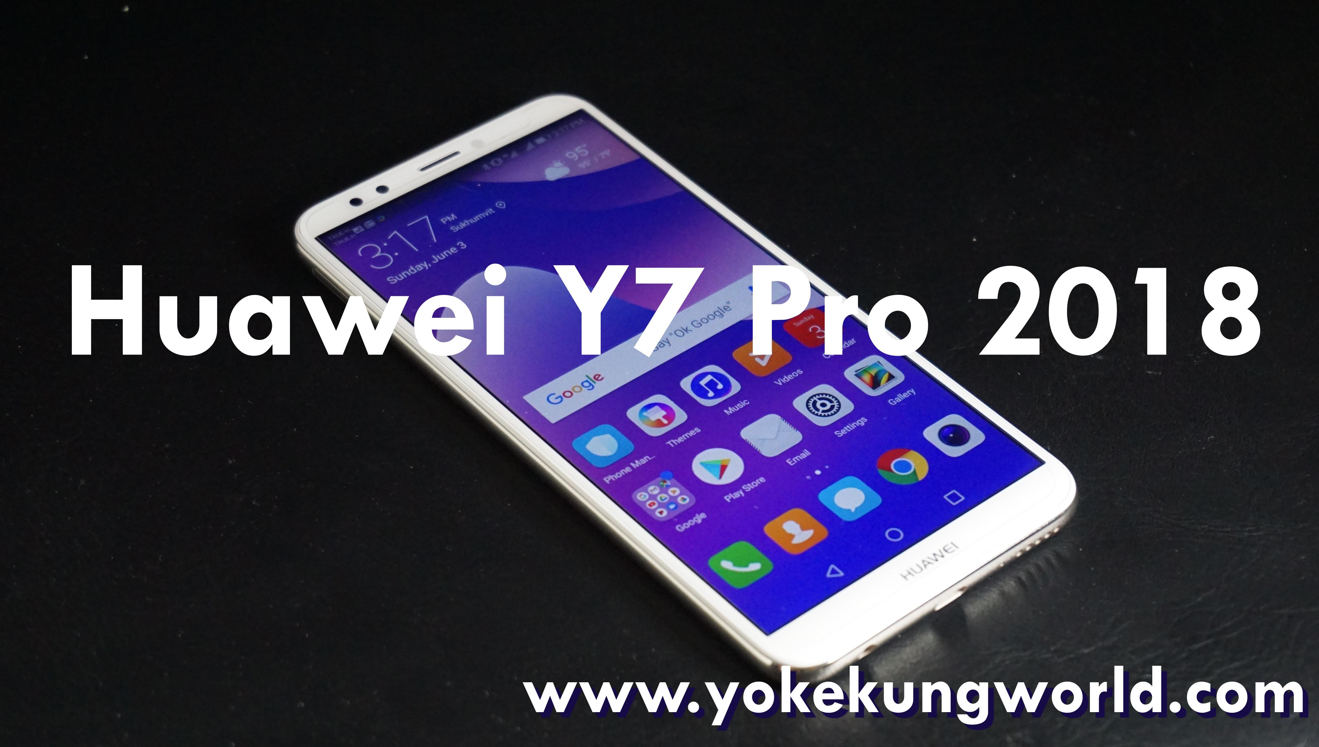 HUAWEI Y7 Pro 2018 มือถือกล้องคู่ จอ FullView Displayราคา 4,990 บาท