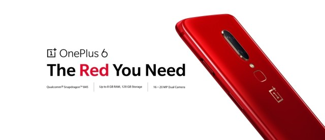 oneplus6 red