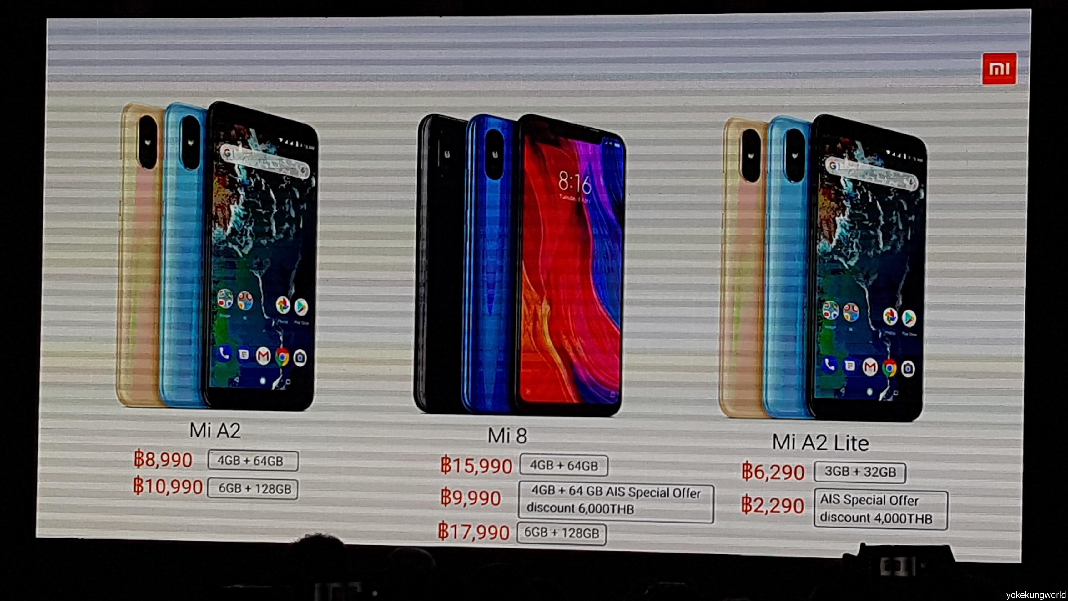 Xiaomi Thailand Launch