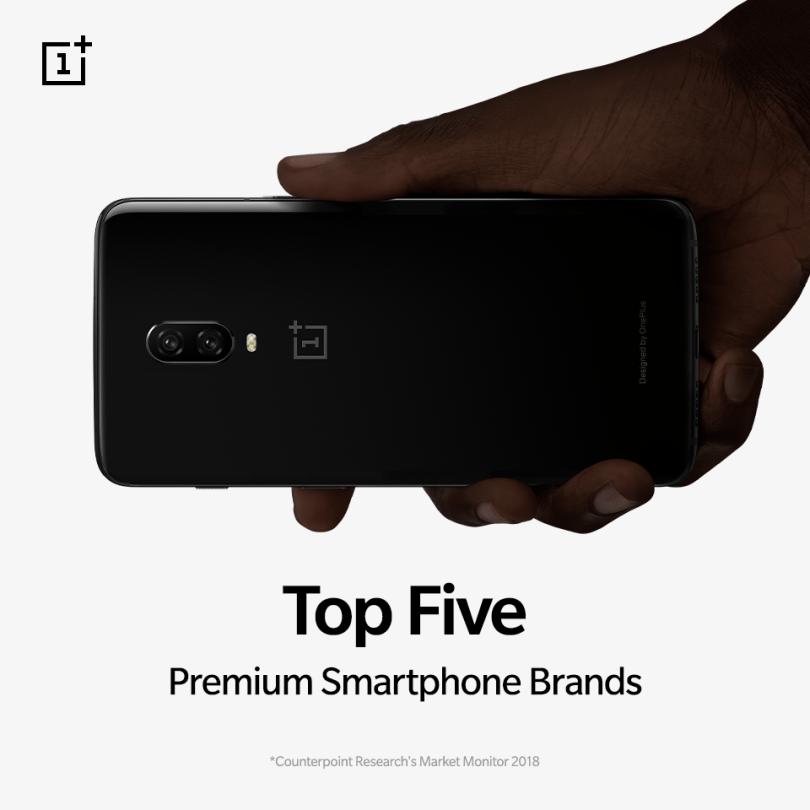 Top 5 OnePlus