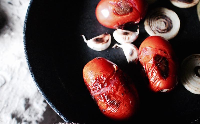 一番美味しいサルサ -ローストトマトサルサ-