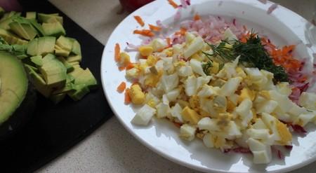 春の卵サラダ